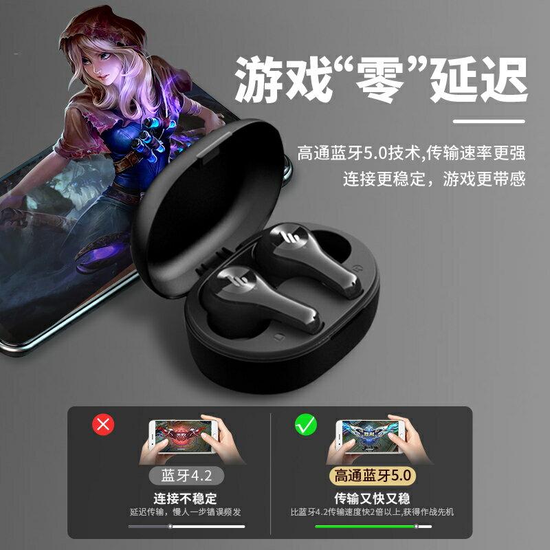 真無線藍芽耳機雙耳塞降噪半入耳掛耳式超長待機續航適用華為蘋果