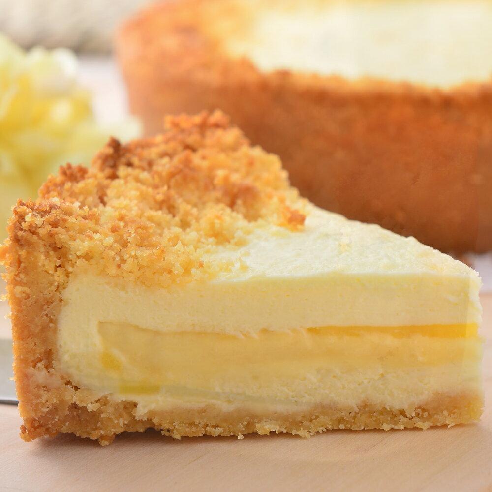【艾波索.芝心半熟乳酪蛋糕4吋】起司乳酪控最愛!經典乳酪搭配芝心起士口味鹹甜交錯,經典絕佳的味覺組合 1