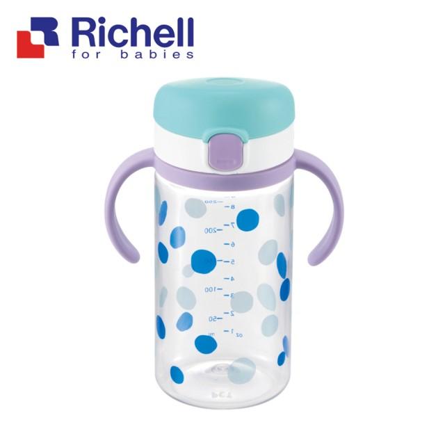 日本【Richell-利其爾】普普風直飲杯-320ml - 限時優惠好康折扣