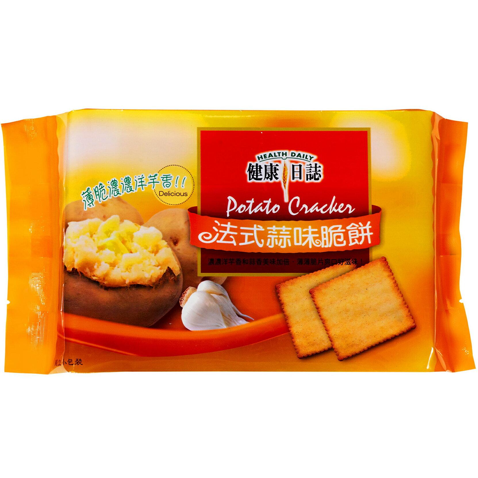 健康日誌 法式蒜味脆餅─192g