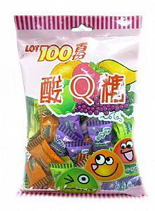 【缺貨】一百份酸Q糖200g