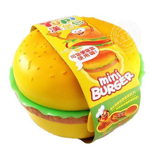 呦皮漢堡包QQ軟糖100g