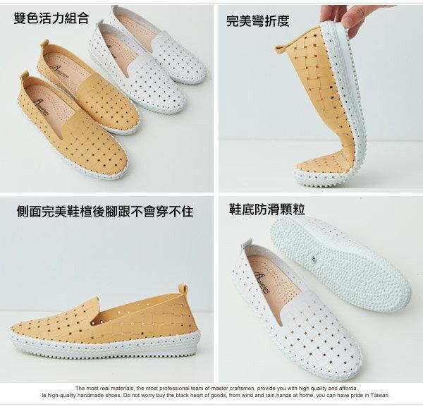 雷射洞洞一體成型鞋墊超輕便鞋【QT7016-11080】AppleNana蘋果奈奈 1