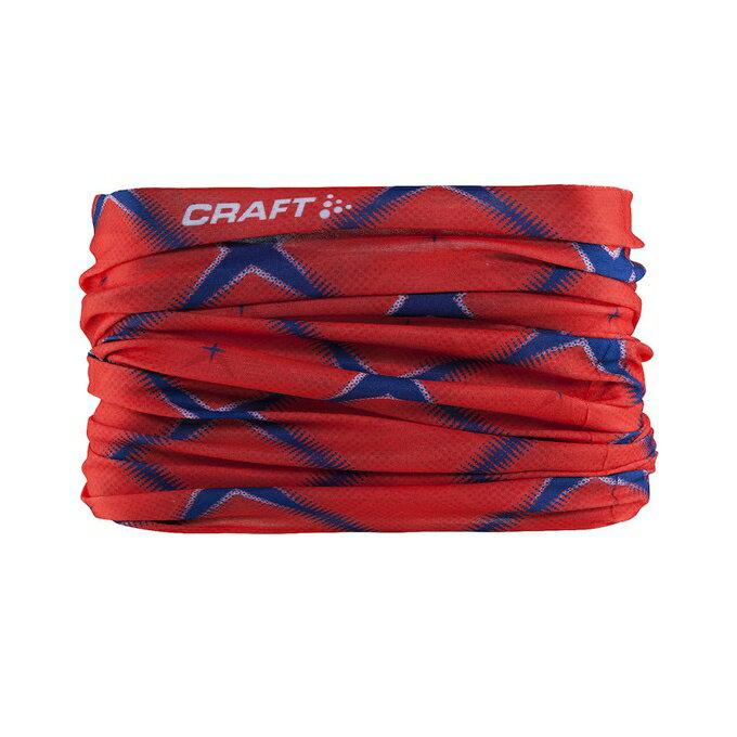 [瑞典Craft] 運動 腳踏車 登山 魔術頭巾 防曬 吸汗 透氣 快乾 1904092-2381紅