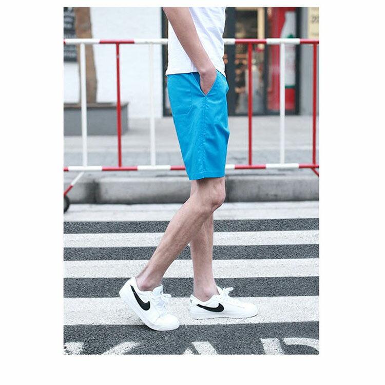 【專區任選2件$580】 最新款日系新品潮流經典純色休閒短褲 2