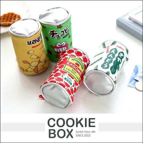 零食幫 易拉罐 小零錢包 收納袋 生活 化妝品 置物 旅行 創意 造型 恐龍 餅乾 番茄醬 禮物 *餅乾盒子*