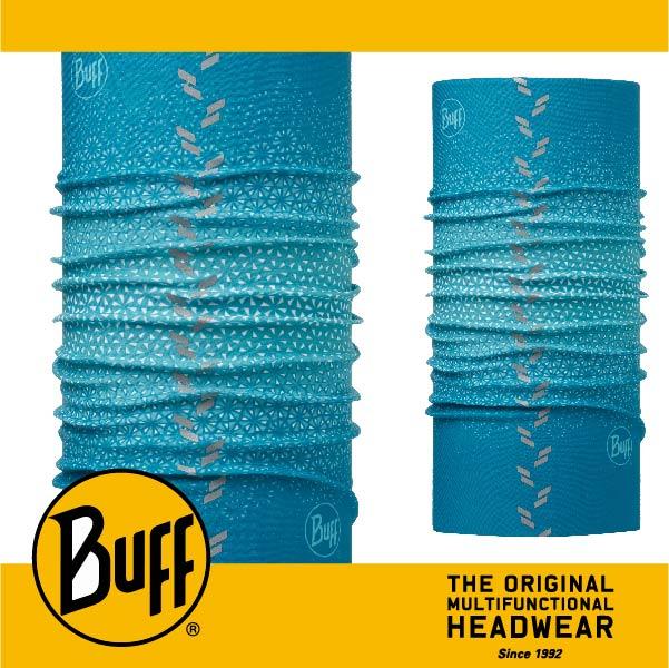BUFF 西班牙魔術頭巾 反光頭巾^~綠松雪花^~ BF113113~789~10 ~