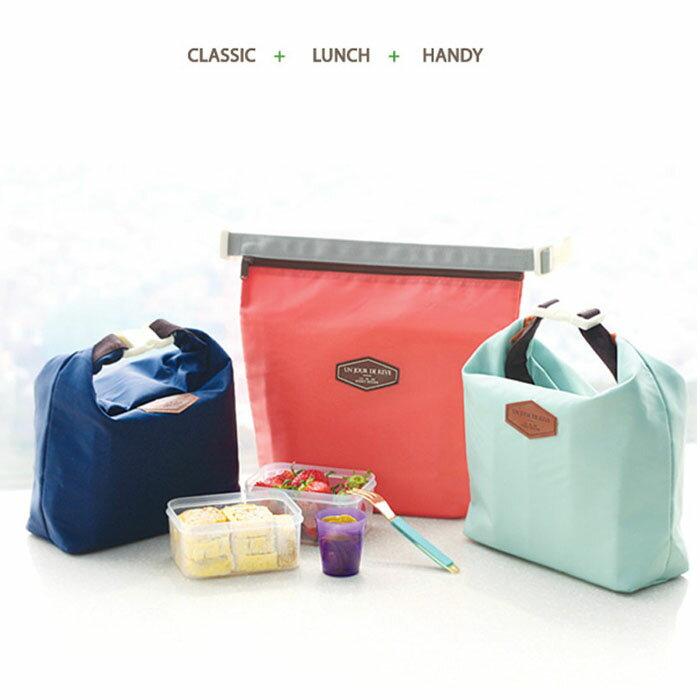 【酷創意】韓流新款 新款 時尚保溫袋 保冷袋冰包 保溫包 便當包 (E26)