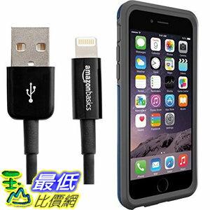 [106美國直購] Otterbox Symmetry Series iPhone 6/6s Case and AmazonBasics Lightning Cable (6-Feet) Pack