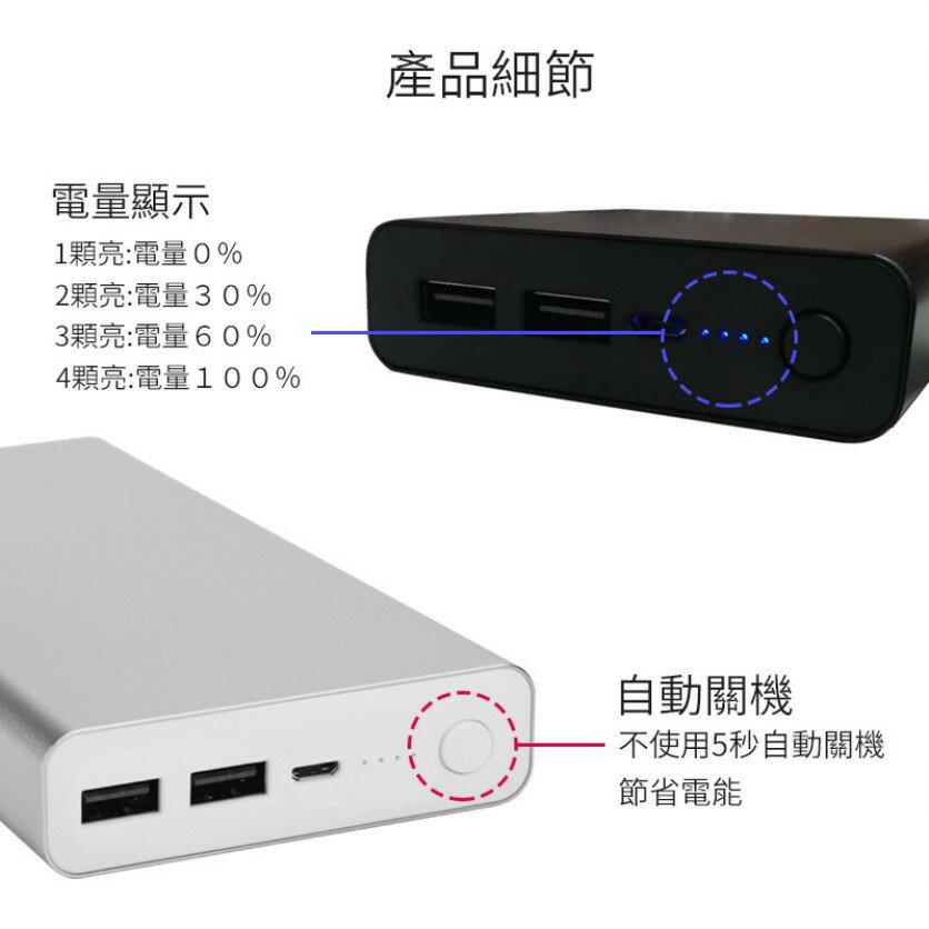 (送 雙彎頭充電線) POLYBATT 大容量行動電源 24000M 行動充 充電寶 隨身充 鋁合金 台灣製造 7