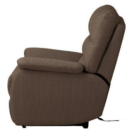 ◎(OUTLET)布質1人用電動可躺式沙發 BELIEVER2 YL-DBR NITORI宜得利家居 4