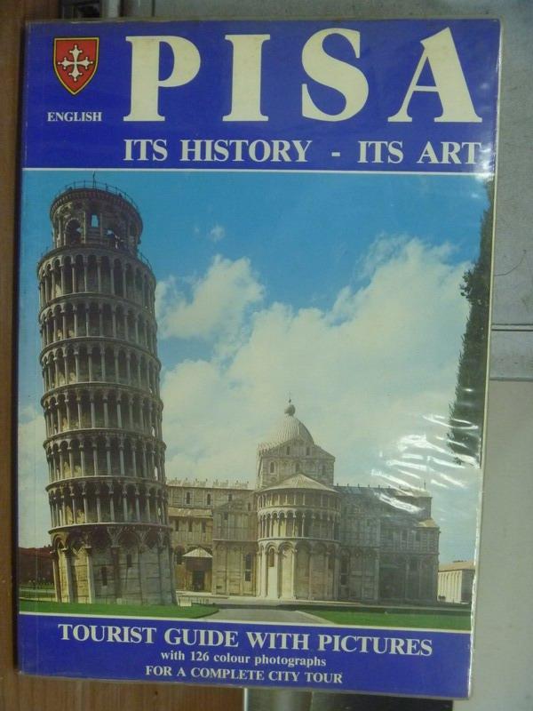 ~書寶 書T7/旅遊_QCY~PISA ITS HISTORY~ITS ART_1981