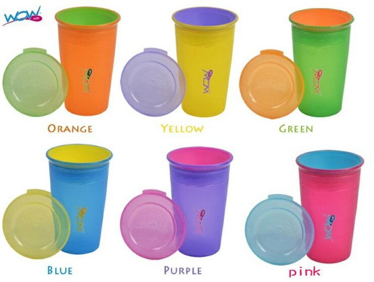 【寶貝樂園】Wow Cup 360度透明喝水杯+杯蓋 防漏水杯