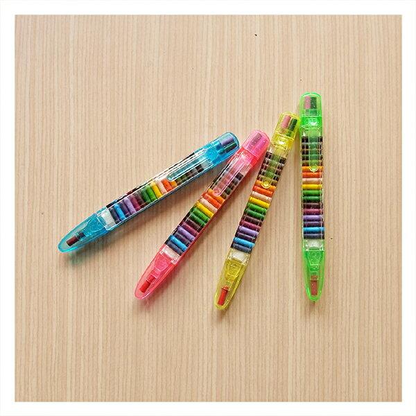 【aife life】多色蜡笔/儿童学生彩色蜡笔/美术美劳用具/办公室笔记重点文书/可客制化印字赠品礼品