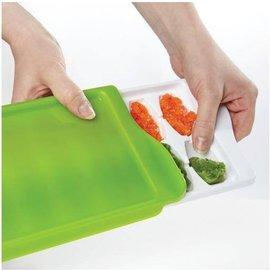 【淘氣寶寶】【美國oxo】優良評價超推薦 食物冷藏盒/副食品冷存組合/冰磚 14格/22毫升