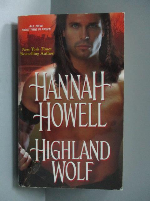 ~書寶 書T1/原文小說_OTJ~Highland Wolf_Hannah