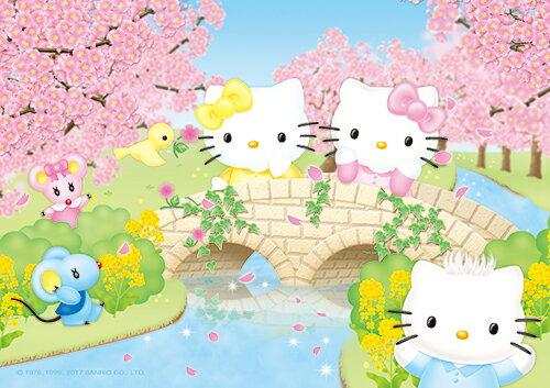 HP0108-097Hello Kitty 春櫻花漾拼圖108片