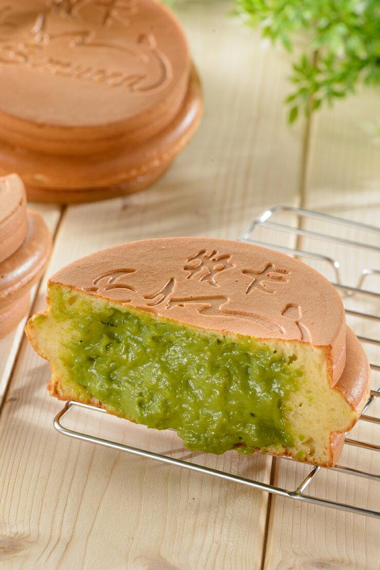 【牧卡燒 京都宇治抹茶 一盒八入】全台最大爆餡紅豆餅 下午茶 團購 點心 銅板美食