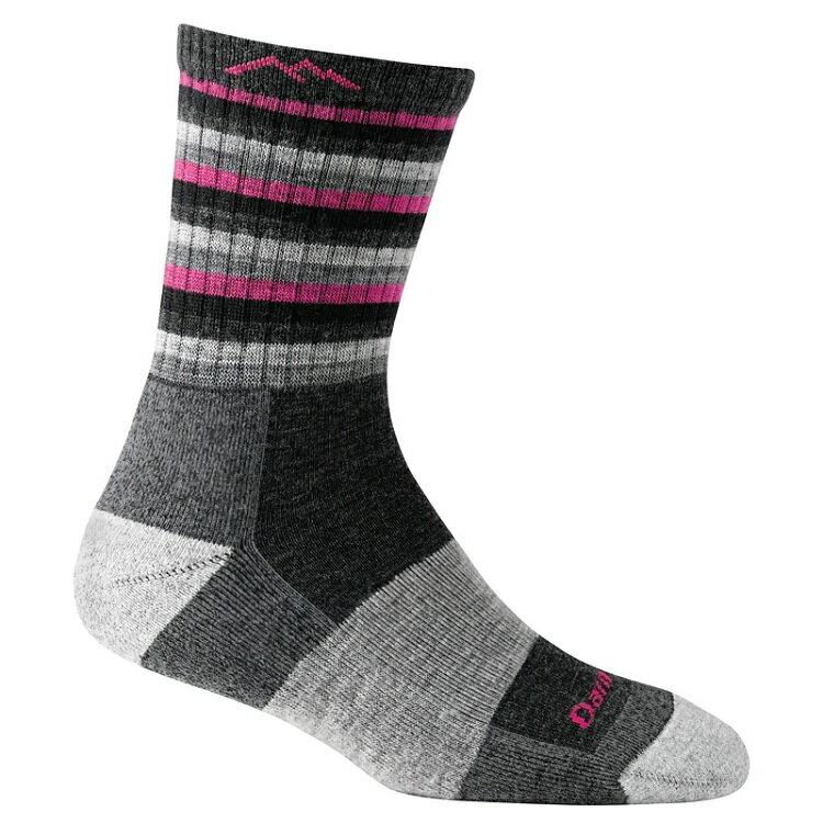 Darn Tough 羊毛襪/美麗諾羊毛襪 女款 STRIPES 1904 黑粉條紋 HP/ST