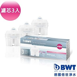 BWT 德國倍世 Mg2+鎂離子長效型濾芯 (三入)