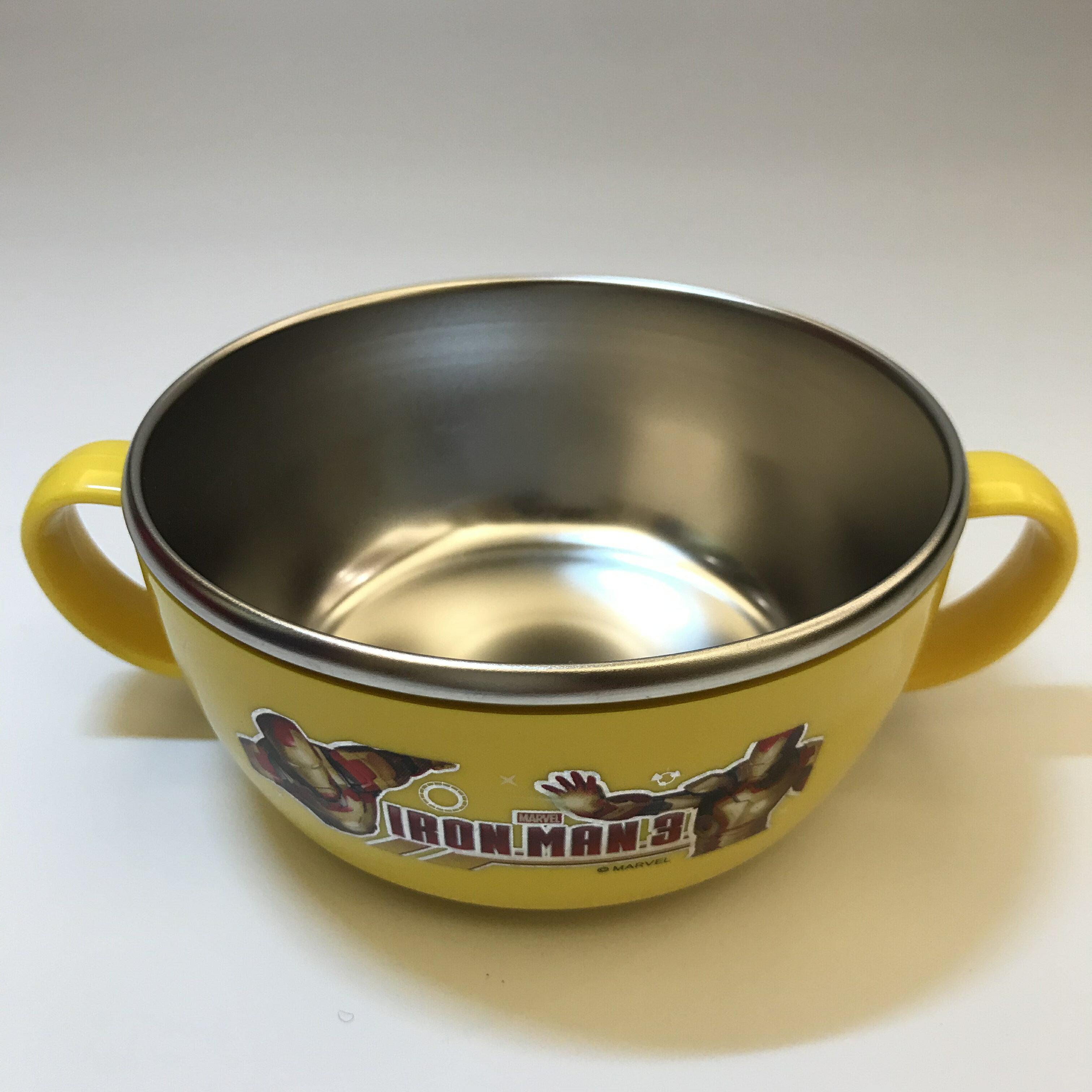 鋼鐵人兒童不鏽鋼餐碗-小