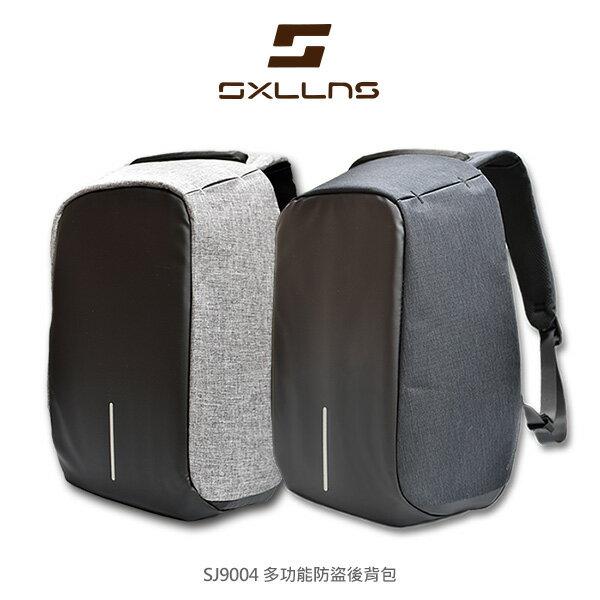 Sxllns賽倫斯多功能防盜背包通過設計蒙馬特城市安全防盜背包防水包後背包防盜包