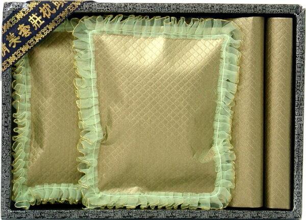 紙紮怪傑:蕾絲枕頭被_緞布