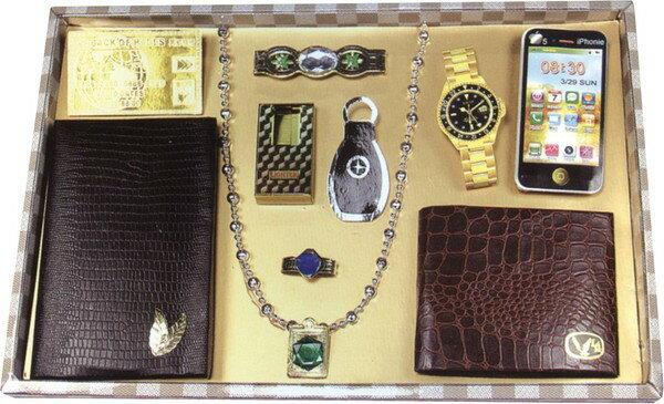 G90~1 奢華男首飾盒