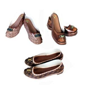 紙紮怪傑:B69奢華女皮鞋