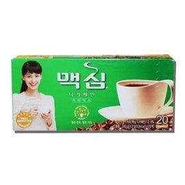 ★樂焙客☆原裝12gx20包【㊣韓國 DongSuh Maxim 三合一即溶咖啡(低咖啡因)】