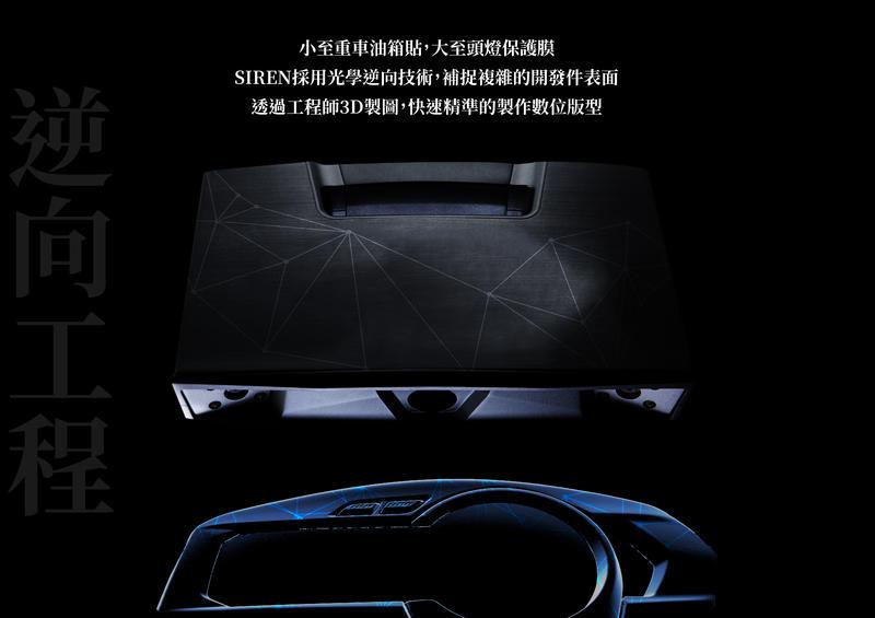 【LFM】宏佳騰 AI-1 大燈 方向燈 SIREN 保護貼 套件組 AEON AI-1 Sport(2019) 3