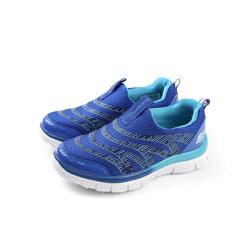 SKECHERS  懶人鞋 童鞋 藍色 no646