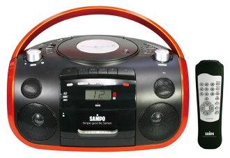 ◤卡帶可錄廣播及現場錄音◢ SAMPO 聲寶 CD/MP3/USB/SD 收錄音機 / 手提音響 AK-W1602UL