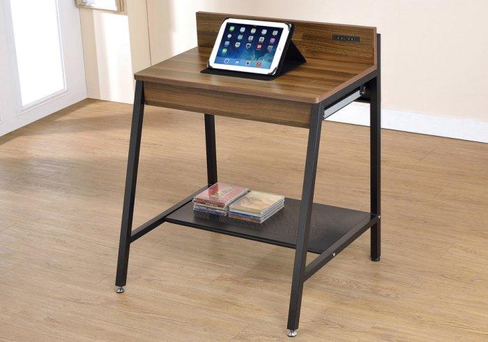 【尚品傢俱】JF-882-1 小賈2.1尺胡桃兩用電腦桌