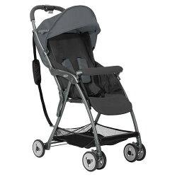 Graco 超輕量型單向嬰幼兒手推車 羽量級 FEATHERWEIGHT-酷樂黑灰【悅兒園婦幼生活館】