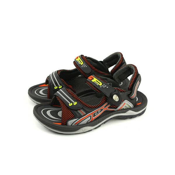 GP(Gold.Pigon)涼鞋防水雨天灰色大童童鞋G8683B-42no931