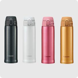 日本公司貨 象印 ZOJIRUSHI【SM-TA48】保溫瓶 不鏽鋼 真空保溫杯 可分解杯蓋