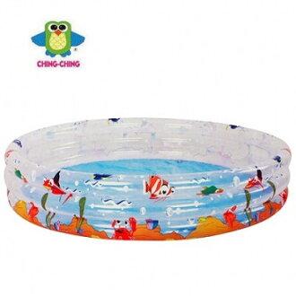 親親海洋動物三環水池 兒童泳池 小【六甲媽咪】