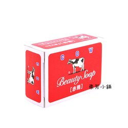 赤箱 日本COW牛乳石鹼香皂(玫瑰保濕型)100g