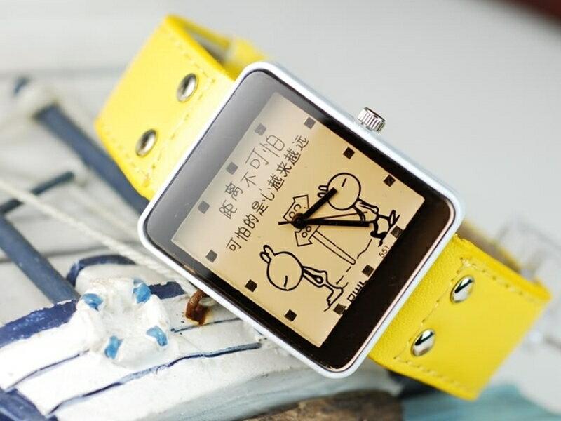 《316小舖》【PG10】(時尚石英手錶-兔子造型手錶-單件價 /男生手錶/女生手錶/生日禮物/聖誕節禮物/耶誕節禮物/日式手錶)