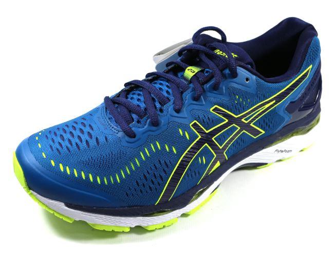 <br/><br/>  [陽光樂活] ASICS 亞瑟士 GEL-KAYANO 23 4E超寬楦 (男) 高支撐慢跑鞋 - T648N-4907 藍<br/><br/>