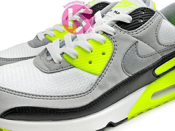 2020 經典復刻慢跑鞋 OG 版型 NIKE AIR MAX 90 白灰黑 螢光黃 網布 絨毛面 大氣墊 慢跑鞋 (CD0881-103) 0120 2