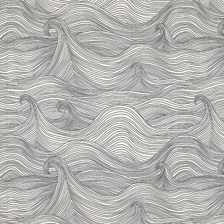 壁紙 Abigail Edwards / Seascape winter 牆紙 (訂貨單位52cm×10m/卷)