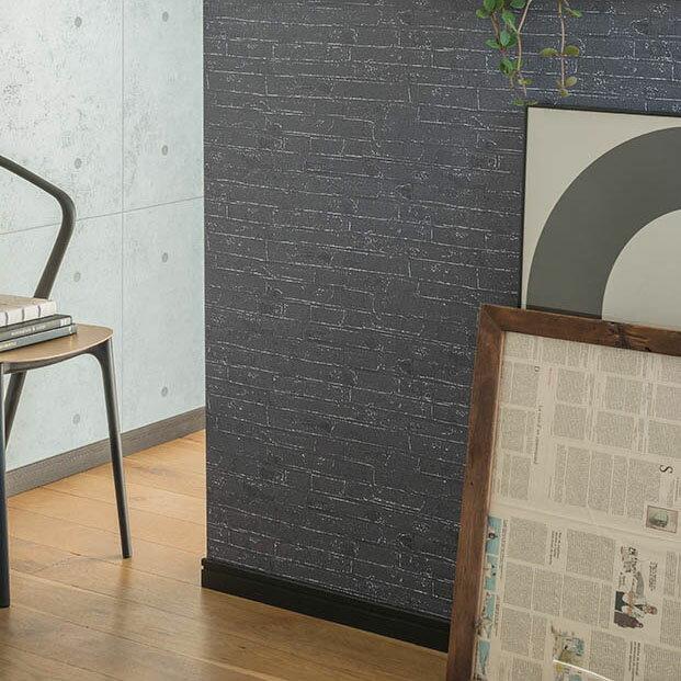 日本壁紙 DIY工具組 灰色磚紋 工業風 SINCOL BB-8442 牆紙