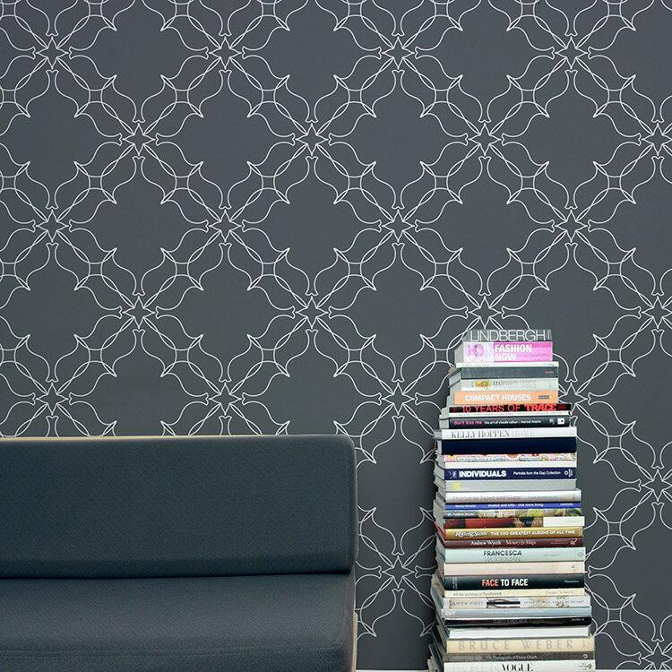 Aimee Wilder / KIKI Collection Loops chalk 壁紙 (訂貨單位68.8cm×9m/卷)