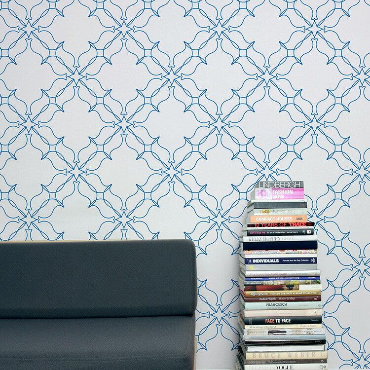 Aimee Wilder / KIKI Collection Loops dutch 壁紙 (訂貨單位68.8cm×9m/卷)