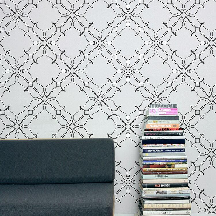 Aimee Wilder / KIKI Collection Loops oreo 壁紙 (訂貨單位68.8cm×9m/卷)