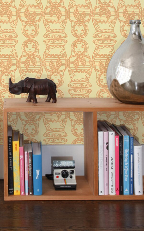 Aimee Wilder / DIORAMA Collection Maatuska Lemongrass 壁紙 (訂貨單位68.8cm×9m/卷)