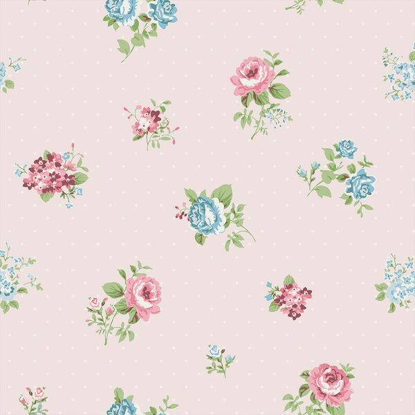 粉色女孩房BloOmpapers西班牙AnneLisianthusRosa6270111