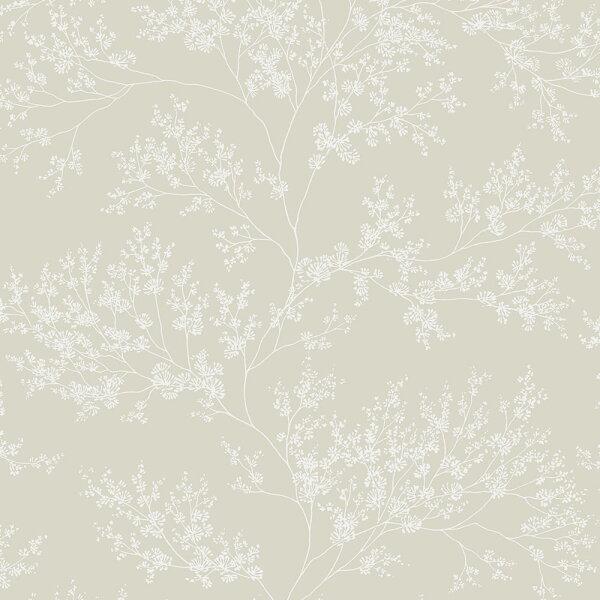 米色花紋BloOmpapers西班牙AnneFreesiaBeige6271301